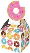 Creative Converting 324233 Donut Favor Boxes Party Supplies, 9.15