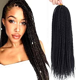 Sponsored Ad - Crochet Braids Senegalese Twist Crochet Hair 8 Packs 18 Inch Small Twist Hair Crochet Braids Pre Looped Min...