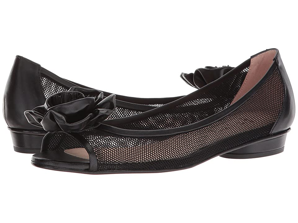 French Sole Bellflower (Black Mesh) Women