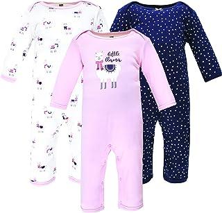 Hudson Baby Kombinezon dziecięcy Uniseks - niemowlęta Hudson Baby Unisex Baby Cotton Coveralls, Little Llama