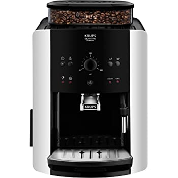 Krups EA8118 Independiente 1.6L Negro - Cafetera (Independiente, 1,6 L, Granos de café, Molinillo integrado, Negro): Amazon.es: Hogar