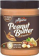 Alpino Classic Peanut Butter Smooth 400 G (Gluten Free / Non-GMO / Vegan)