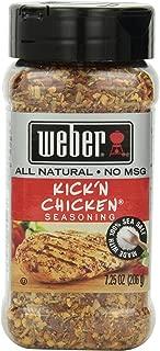 Weber Seasoning, Kick 'N Chicken, 7.25 oz