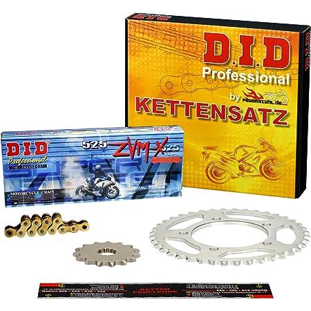 Kettensatz Kawasaki Zr 1100 Zephyr 1992 1997 Zrt10a Zrt10b Did X Ring Vx Gold Verstärkt Auto