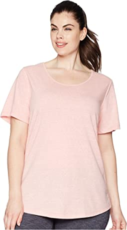 Aventura Clothing Plus Size Dharma Short Sleeve Top