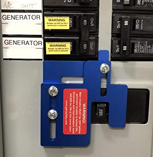 Eaton Cutler Hammer Challenger BR-200 Generator Interlock Kit (Anodized Aluminum!) for BR Series 150 and 200 AMP Panel