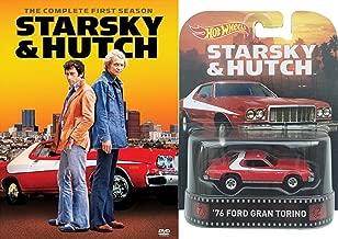 Starsky & Hutch Complete Season 1 DVD and Hot wheels Car Bundle