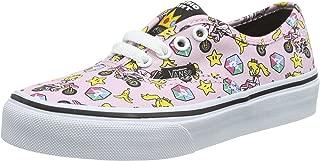 Vans - Unisex-Child Authentic Shoes, Size: 13 M US Little Kid, Color: (Nintendo) Princess Peach/Motorcycle