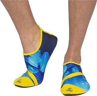 Cressi 儿童水袜女式水上鞋,适合水上运动、游泳、泳池、海滩散步。