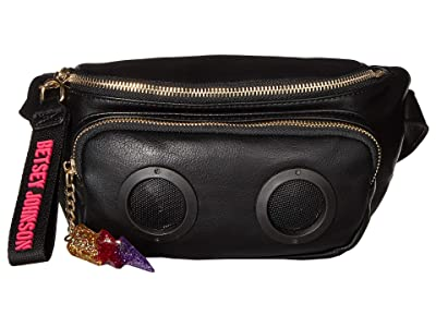 Betsey Johnson Radio Speaker Fanny (Black) Bags