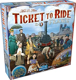 Days Of Wonder Ticket To Ride - Vol 06: France & Old West Board & Card Games