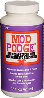Mod Podge Hard Coat, 16 Ounce
