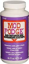 Mod Podge CS15063 Waterbased Sealer, Glue & Finish, 16 oz, Hard Coat, 16 Ounce