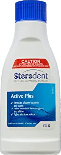 Steradent Active Plus Denture Cleansing Powder 200g