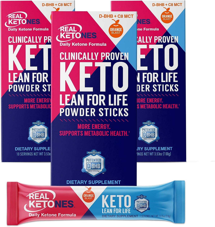 Real Ketones Prime D- Exogenous Keto + MCT D Electrolytes- BHB Save money store