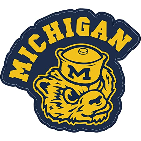 Michigan Wolverines NCAA Football //Vinyl Sticker //Decal for car window laptop