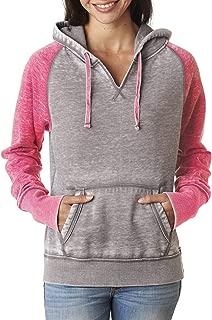 Ladies' Zen Fleece Raglan Sleeve Crewneck Sweatshirt-8927