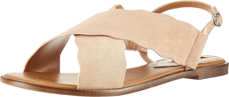 Kensie Womens Maelle Flat Sandal