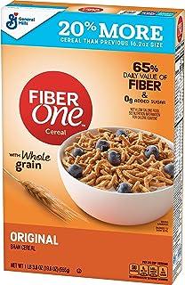 Fiber One Cereal Original Bran 19.6 oz (10016000157627)