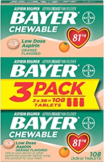 Bayer Low Dose 81mg Aspirin