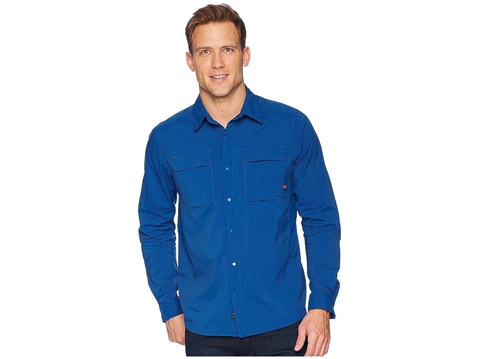Mountain Hardwear Canyon Protm Long Sleeve Top (Nightfall Blue) Men