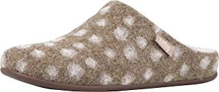 Womens Chrissie Dots Wool Shearling Slipper Shoes