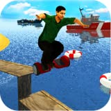 Extreme Electric Hoverboard Stunts : Free Summer Sports Beach Activities Game