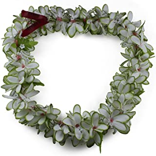 Hawaii Luau Party Artificial Fabric Plumeria Lei
