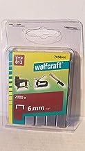 Wolfcraft 2000 klemmen breed, hard staal type 13 6 mm 7056000