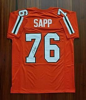 Signed Warren Sapp Jersey - JSA Certified - Autographed College Jerseys