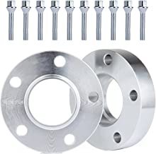 ECCPP 5 Lug Wheel Spacers Adapters 5x120mm to 5x120mm 2X 30mm Thick fits for E36 E46 E60 E61 E62 E90 E91 with 12x1.5 Studs