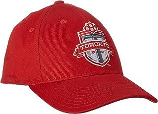 MLS Toronto FC Men's Basic Structured Flex Cap, Large/X-Large, Red