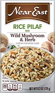 Near East Wild Mushrooms & Herbs Rice Pilaf Mix 6.3oz (Pack of 12 Boxes)