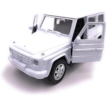 H Customs Welly Mercedes Benz G Klasse Modellauto Auto Lizenzprodukt 1 34 1 39 Weiss Auto