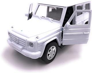 H Customs Mercedes Benz G Klasse Modellauto Auto Lizenzprodukt 1:34 1:39 Weiss