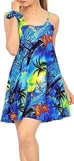 LA LEELA | Funky Camisa Hawaiana | Señores | XS-7XL | Manga Corta | Bolsillo Delantero | impresión De Hawaii | Playa Playa...