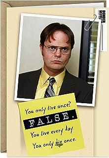 بطاقة عيد ميلاد للمكتب من Hallmark Shops (Dwight Schrute, False)