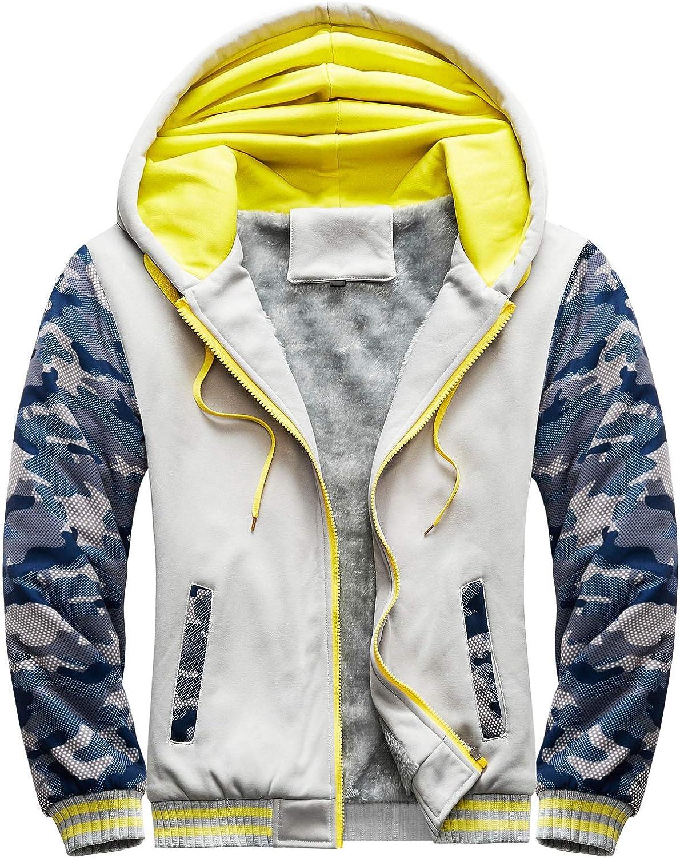 Huangse Varsity Baseball College Bomber High School Letterman Jacket for Men Autumn Winter Fleece Hoodie