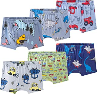 Qtake Fashion Boys Underwear 6pcs (3T, 1-BOYS, 3_years)