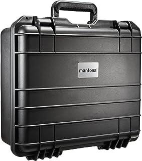 Mantona Outdoorowa walizka na aparat DSLR, GoPro Actioncam/sprzęt fotograficzny, (rozmiar M+, wodoszczelny, odporny na wst...