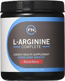 Fenix Nutrition - FNX L-Arginine Complete - Cardio Health Formula - Contains L-Citrulline - Enhance Effects Of Nitric Oxid...