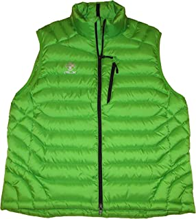 RLX Mens Water Resistant Quilted Down Vest Green