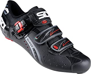Sidi Road Genius 7 Cycling Shoes Black Black Red