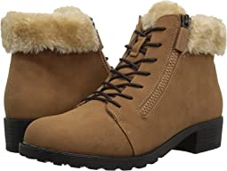 Chestnut/Natural Nubuck PU Waterproof/Faux Fur