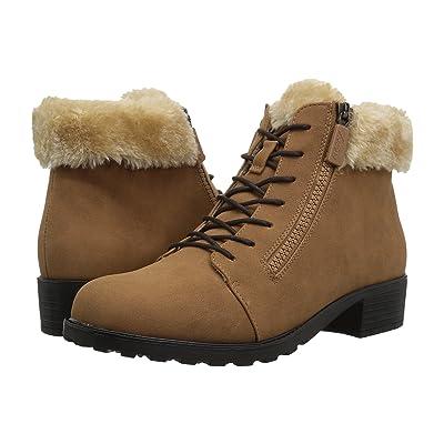 Trotters Below Zero Waterproof (Chestnut/Natural Nubuck PU Waterproof/Faux Fur) Women