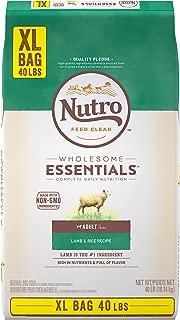 Nutro Wholesome Essentials Natural Adult Dry Dog Food Lamb & Rice Recipe, 40 lb. Bag