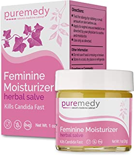 Puremedy All Natural Feminine Moisturizer - Homeopathic Moisture Treatment and Lubricant for Vaginal Dryness, Menopausal D...