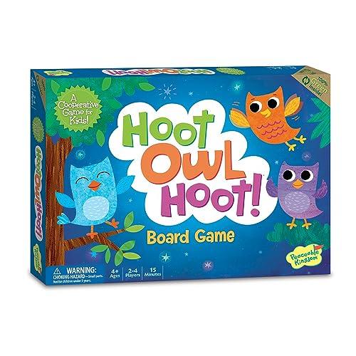 a45a99e2e3dc Peaceable Kingdom Hoot Owl Hoot Award Winning Cooperative Matching Game for  Kids