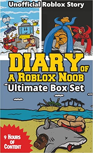 Books By Robloxia Kid Nord Vitae_diary Of A Roblox Noob Boxed Set ...