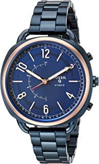 Fossil Q Accomplice Blue Stainless Steel Hybrid Smartwatch FTW1203